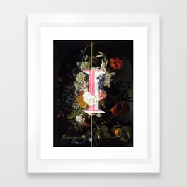 Letter I Framed Art Print