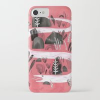 snake iPhone & iPod Cases featuring Snake by Maggie Chiang