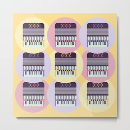accordion lover Metal Print