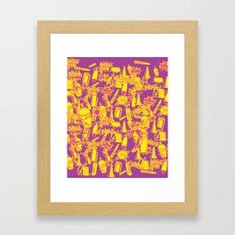 BRIGHT VANDAL CLASSICS Framed Art Print