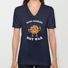 Make Cookies Not War Unisex V-Neck