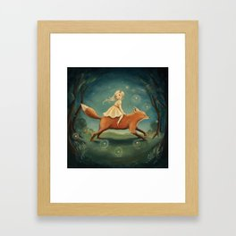 Fox Girl by Emily Winfield Martin Framed Art Print