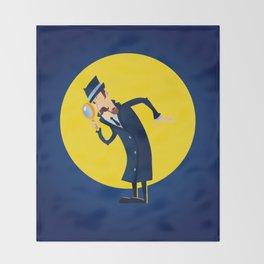 Detective Throw Blanket