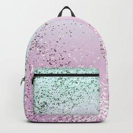 Mermaid Lady Glitter Heart #4 #decor #art #society6 Backpack