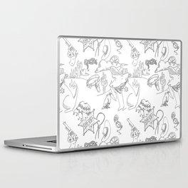 Cowboy Old West Dog Collage Laptop & iPad Skin