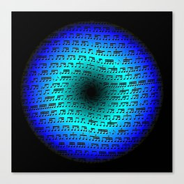 Rhythm Portal Canvas Print
