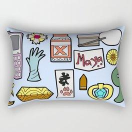 Ace Attorney Inventory Rectangular Pillow