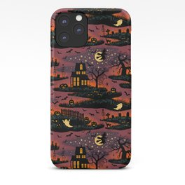 Halloween Night - Bonfire Glow iPhone Case
