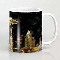 seattle Mugs featuring Seattle by Paul Kimble