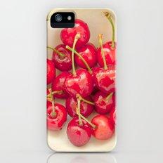 Cherries iPhone (5, 5s) Slim Case