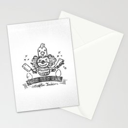 Crazy Clown Stationery Cards