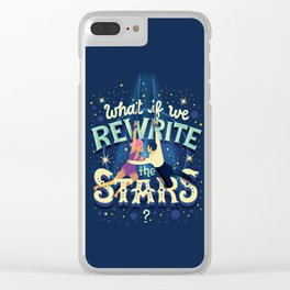 Rewrite the stars Clear iPhone Case