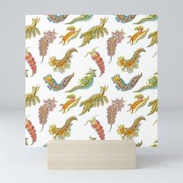 Ernst Haeckel Nudibranch Sea Slugs Tossed Mini Art Print