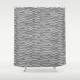 Vintage Lines Shower Curtain