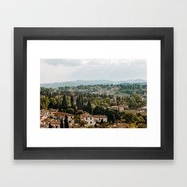 Florence No. 1 Framed Art Print