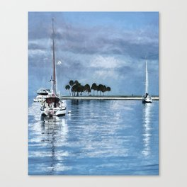 Lost In Tranquility Canvas Print