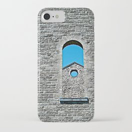Through a Wall - The Peace Collection iPhone Case