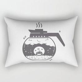 Halloween in a coffee maker!! Rectangular Pillow
