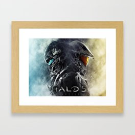 halo 5 Framed Art Print