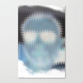 Human disturb Canvas Print