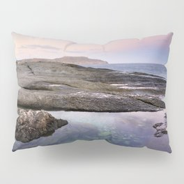 Reflections at Plomo beach Pillow Sham