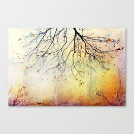 november gold Canvas Print