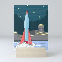 Rocket Mini Art Print