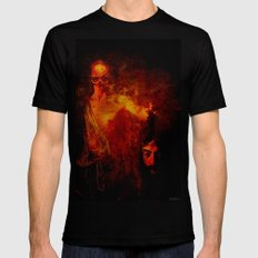 The avenger of the darkness Black SMALL Mens Fitted Tee