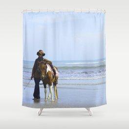 A Living Shower Curtain