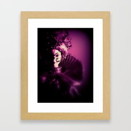 Purple Party Framed Art Print