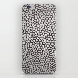 Black circles iPhone Skin