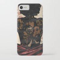 django iPhone & iPod Cases featuring Django by C.R.ILLUSTRATION