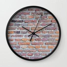 Brickwork Wall Clock