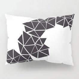 Illustration of irregular triangles Pillow Sham