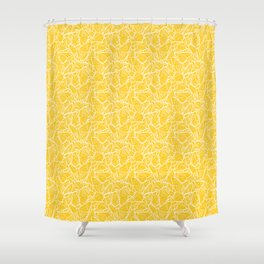 modern butterfly Shower Curtain