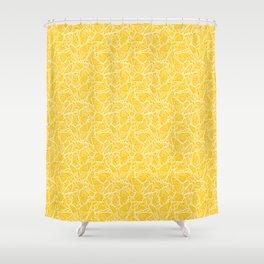 modern butterfly Shower Curtain