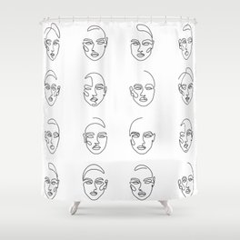 Girl Time Shower Curtain