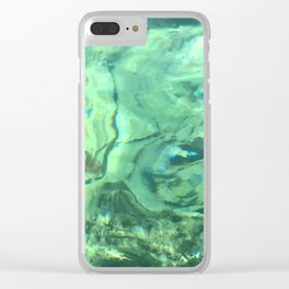Mediterranean Jelly Clear iPhone Case