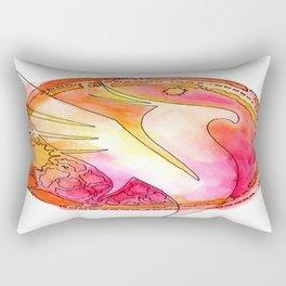 Illenium Fire Rectangular Pillow