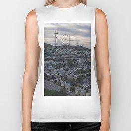 San Francisco - Sutro Tower Chill Biker Tank