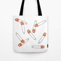 safetypin Tote Bag