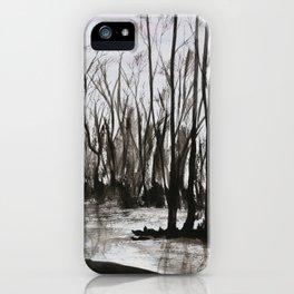 Brent skog - Gerlinde Streit iPhone Case