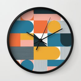 misc. shapes Wall Clock