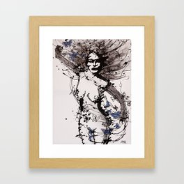 Dala Framed Art Print