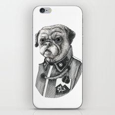Mr. Pug iPhone & iPod Skin