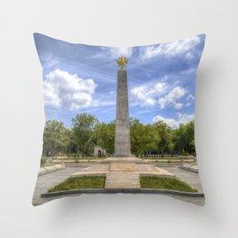 Soviet War Graves And Memorial Budapest Throw Pillow