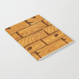 Wooden Boards Notebook