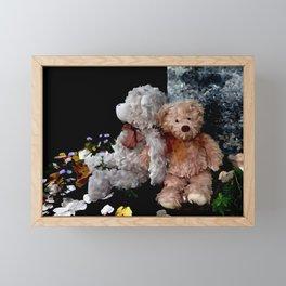 Teddy Bear Buddies Framed Mini Art Print