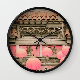 Los Angeles Chinatown Sign Wall Clock