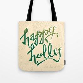 Happy Holly Tote Bag